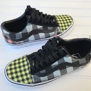 NEW Vans Old Skool Sneakers Plaid Men's 11